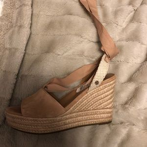 Ugg lace up wedges